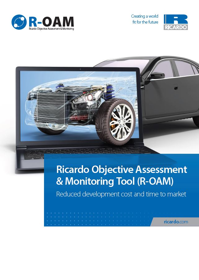 Ricardo Objective Assessment & Monitoring Tool (R-OAM)