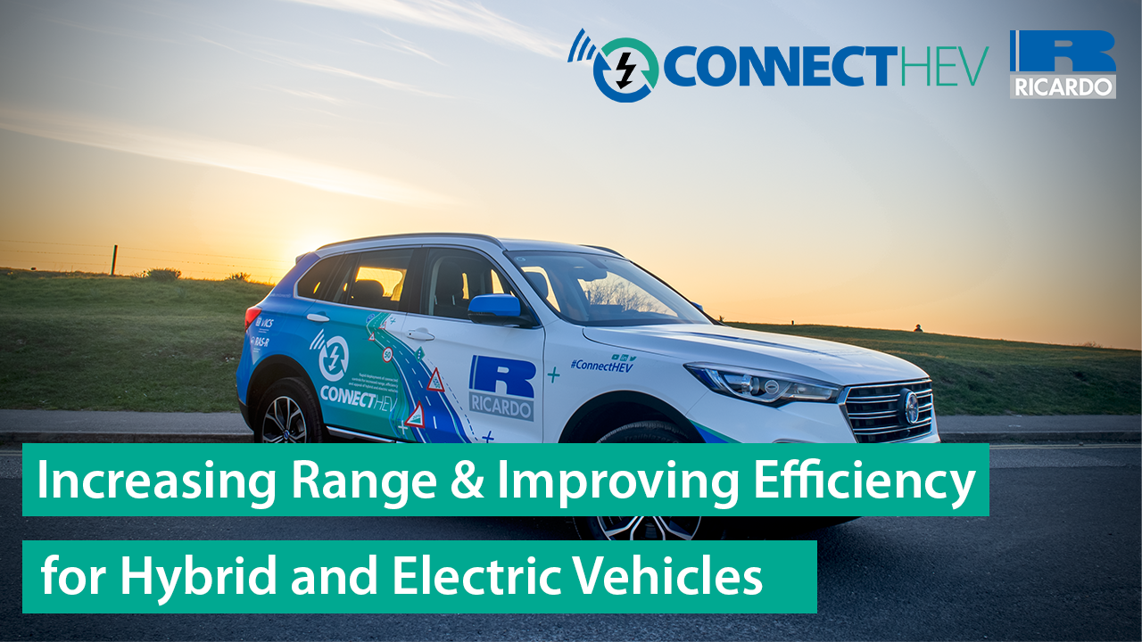 ConnectHEV | Increasing range, efficiency and appeal of hybrid and EVs using connected control