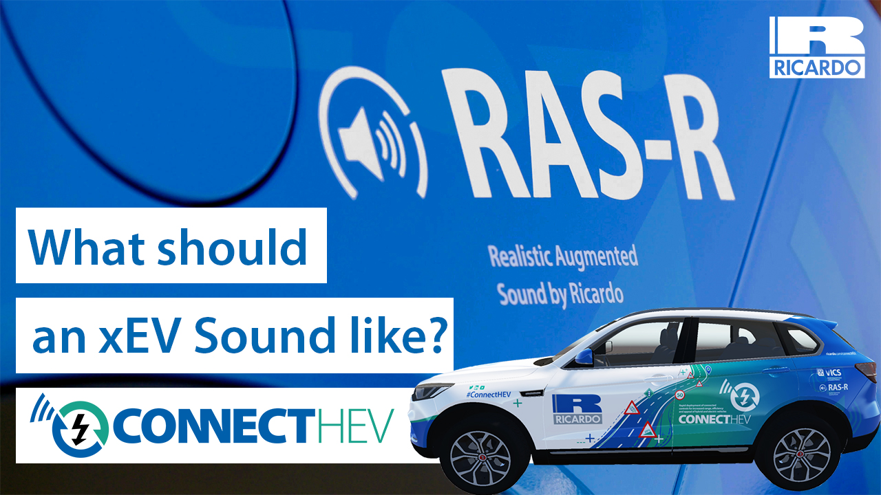 ConnectHEV | Realistic Augmented Sound for xEV powertrain