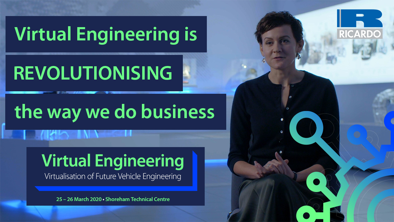Virtual Engineering is revolutionising the way we do business | Ricardo Software