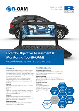 Ricardo Objective Assessment & Monitoring Tool