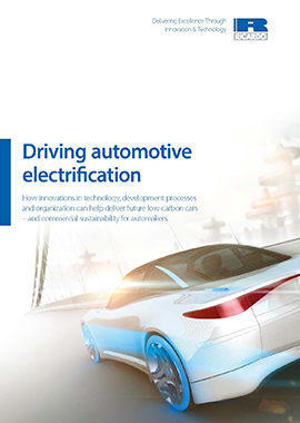 Driving automotive electrification.