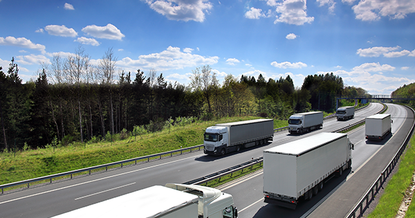 Improving Efficiency in Trucks with Vehicle Co-Simulation, Electronic Horizon and Connected Control Strategies