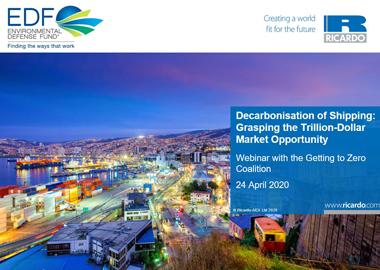 Decarbonisation of shipping: Grasping the trillion-dollar market opportunity