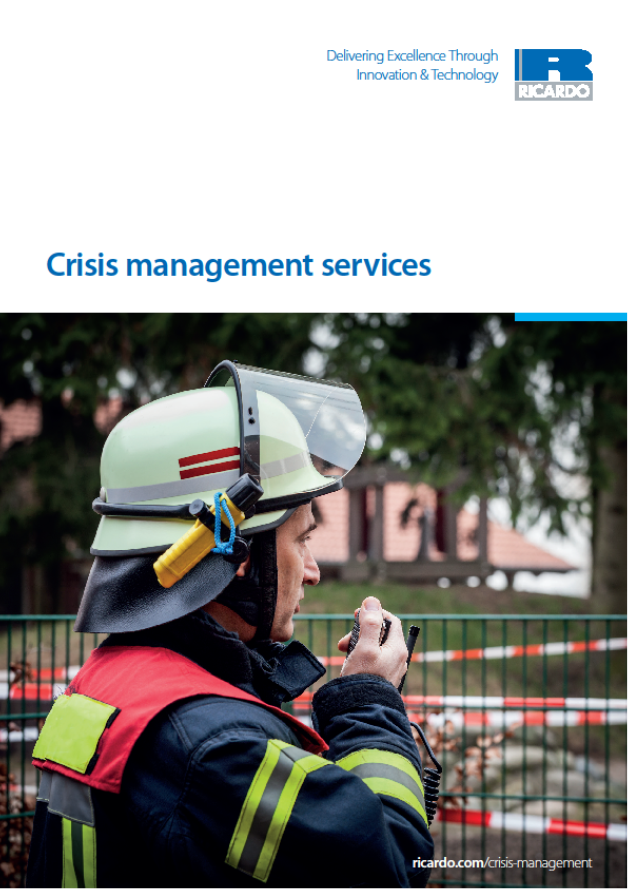 Crisis management services