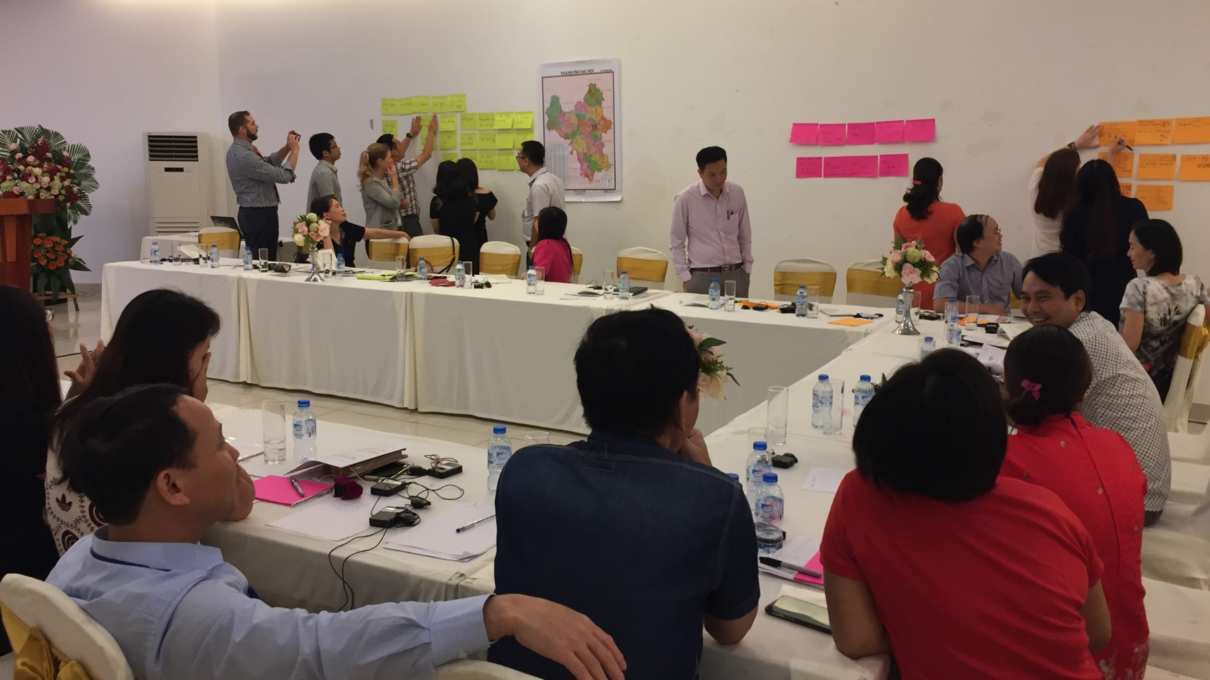 Capacity building in Hanoi