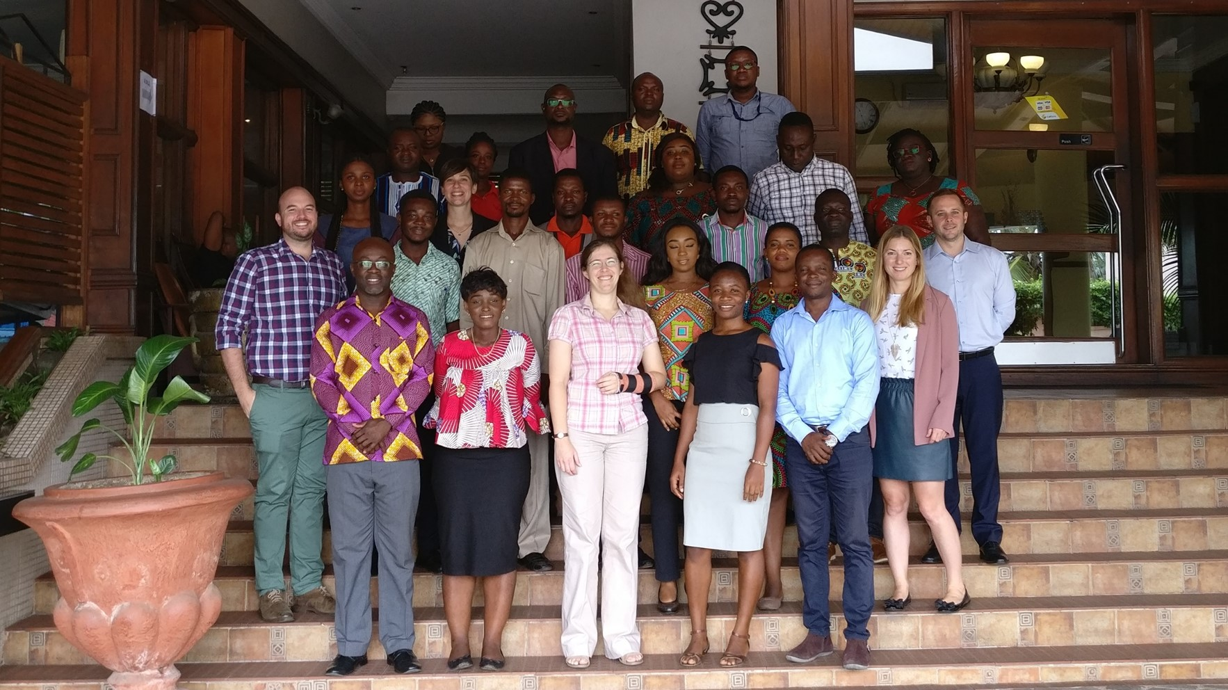 Capacity building workshop group in Accra, Ghana
