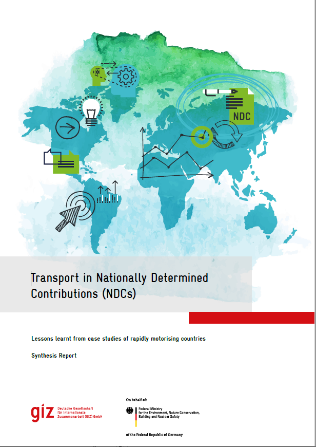 GIZ & Ricardo report on transport in rapidly-motorising countries' NDCs