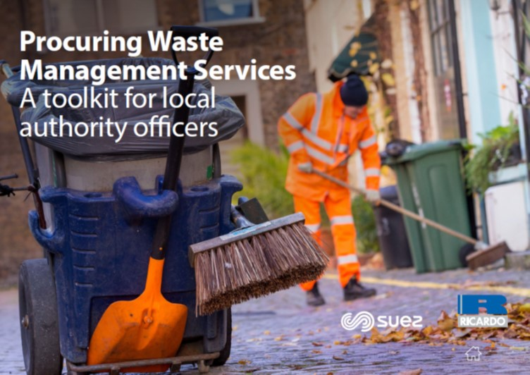 Ricardo and SUEZ publish toolkit to drive value via waste service procurement