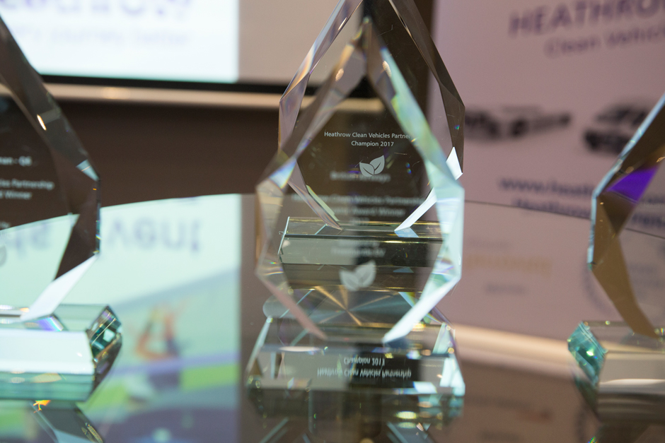 Innovation in Heathrow fleets recognised at Clean Vehicles Partnership Awards