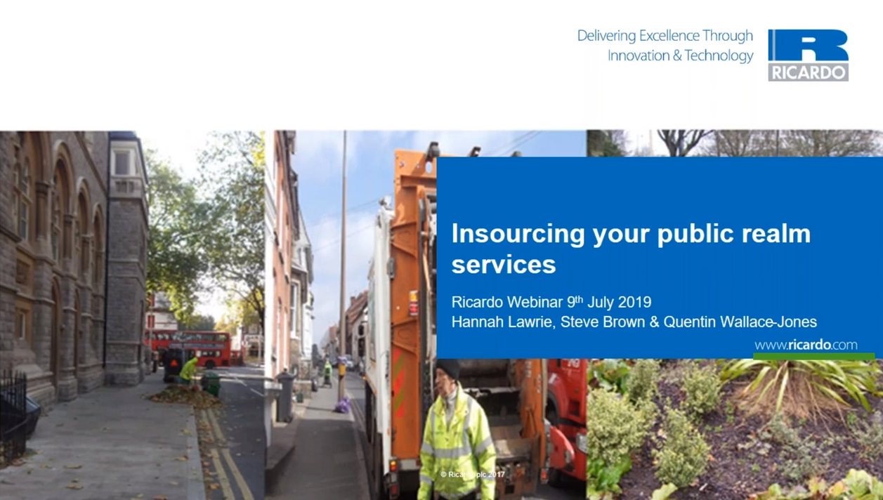 Insourcing Public Realm Services