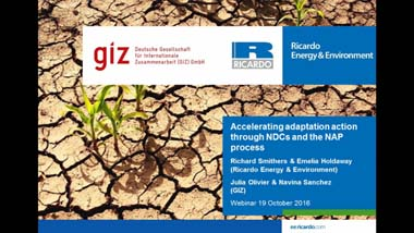 Accelerating adaptation action webinar intro