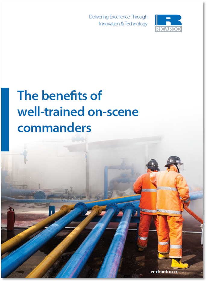 The benefits of well-trained on-scene commanders