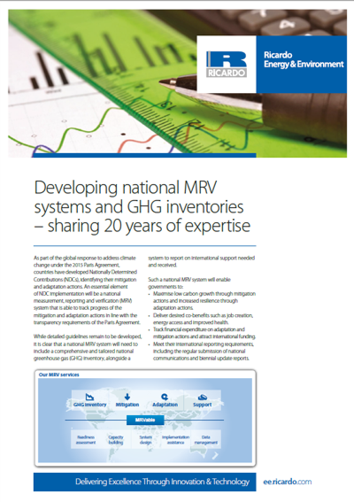 MRV capability statement