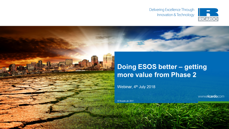Doing ESOS better – getting more value from Phase 2
