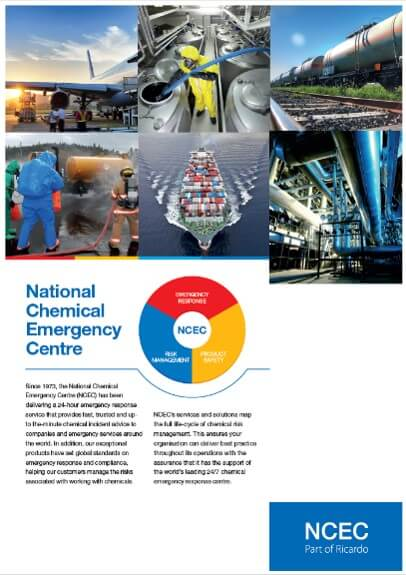 Chemical Risk overview brochure