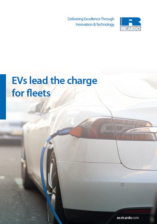 EVs lead the charge for fleets