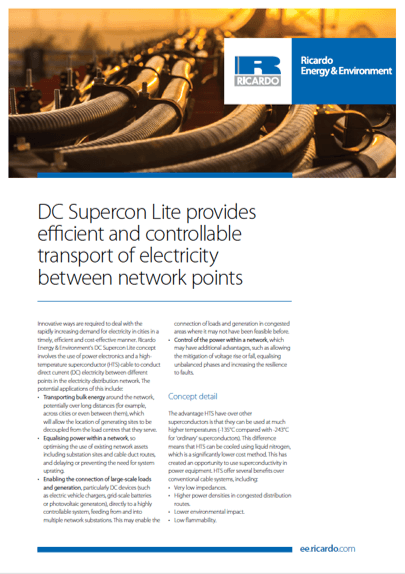 DC Supercon Lite capability statement