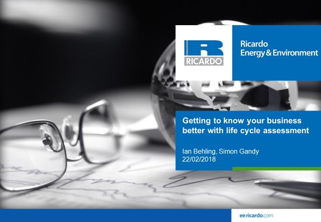 Getting to know your business better with life cycle assessment