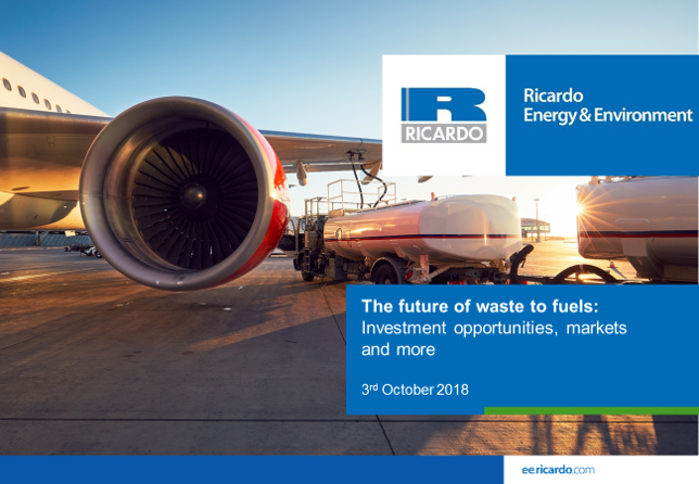 The future of waste to fuels: investment opportunities, markets and more