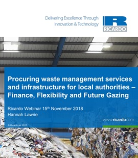 Webinar video: Procuring Waste Management Services