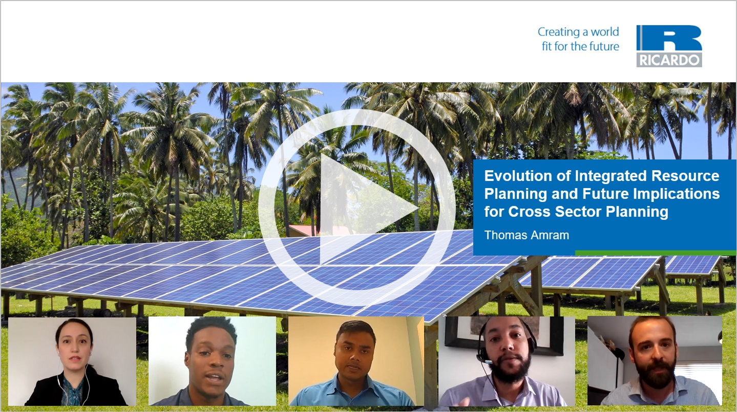 Clean energy development and integrated resource planning in island states