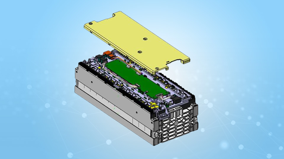 Volkswagen eGolf Battery Module CAD Model