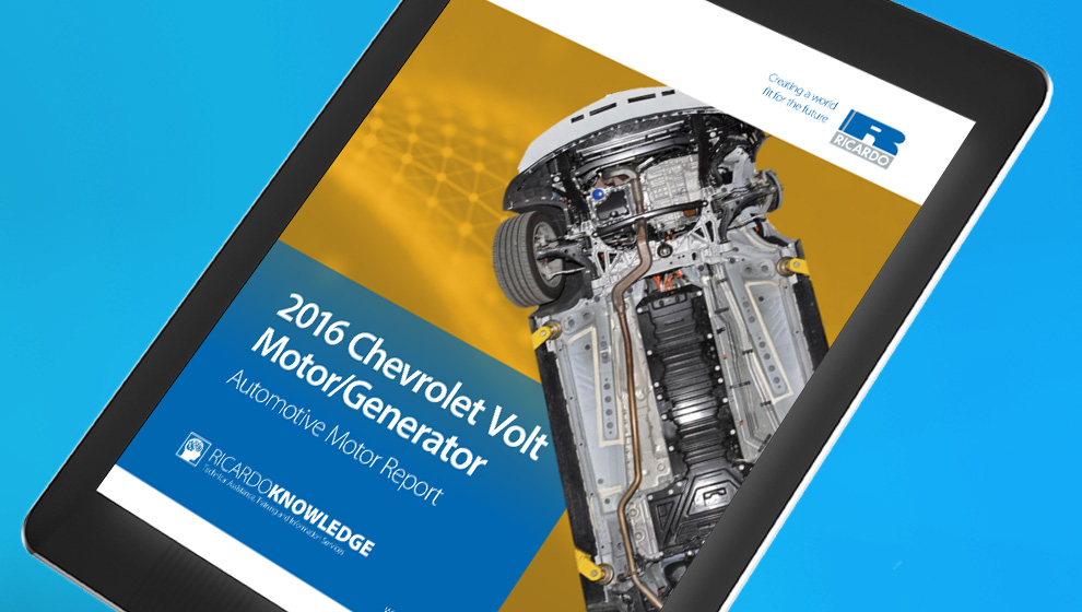 Chevrolet Volt Motor Analysis Digital Report