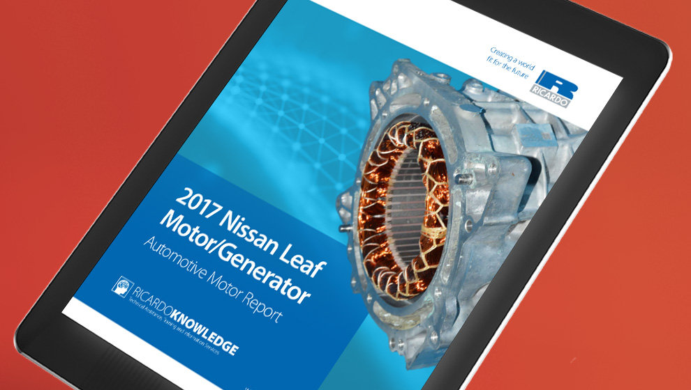 Nissan Leaf Motor Analysis Report
