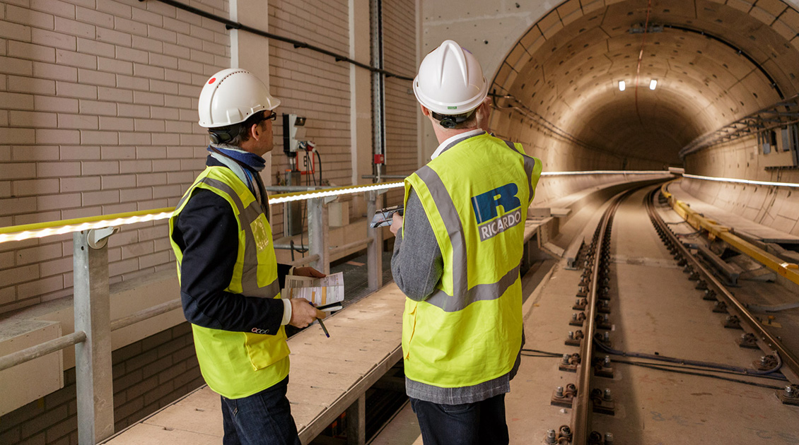 Metro tunnel inspections