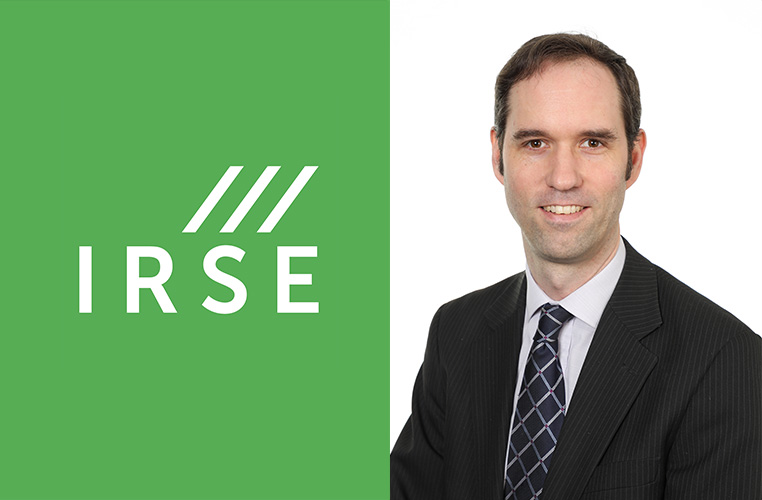 Daniel Woodland confirmed as President of IRSE