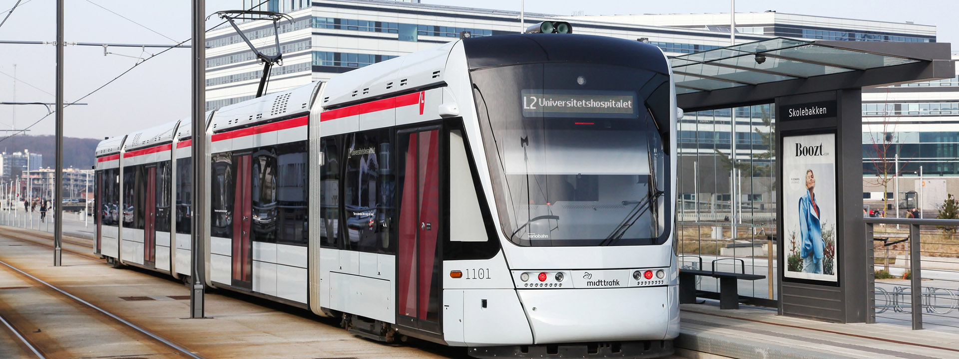 Aarhus and Odder open new light rail connection