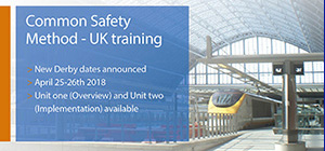 New dates announced for UK rail CSM training course