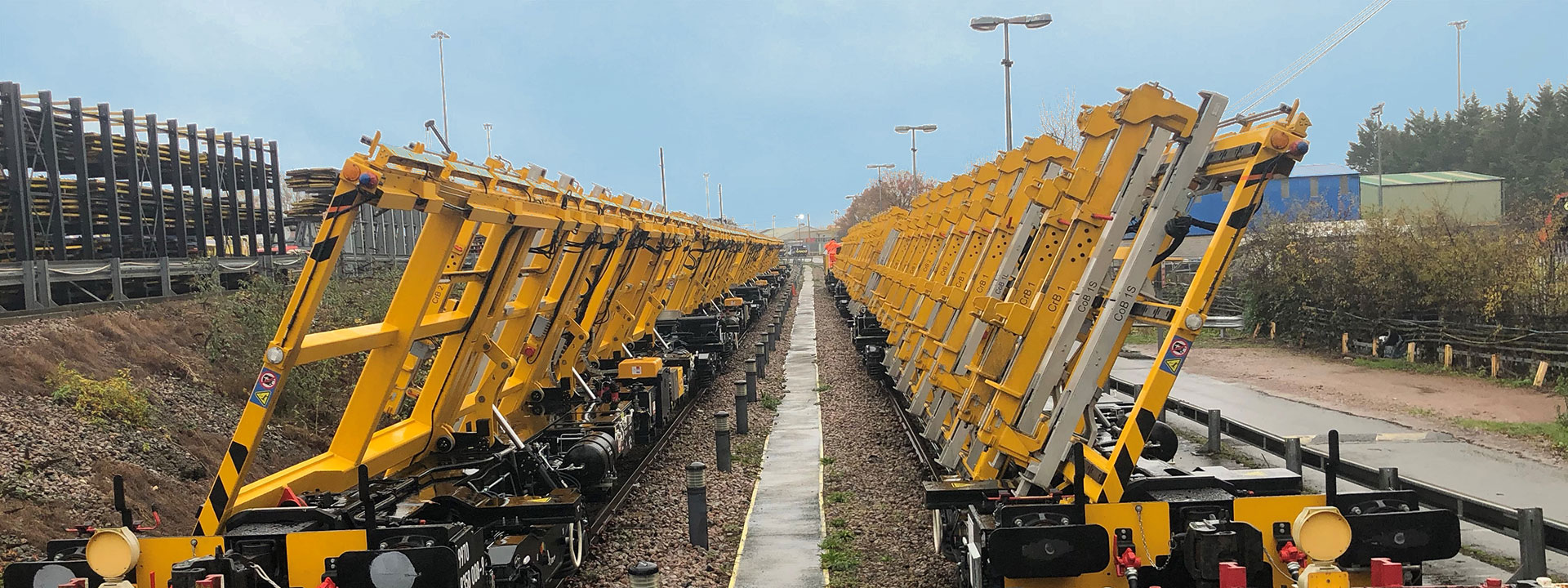 Design Acceptance of Kirow Crane and Switch Tilting wagons
