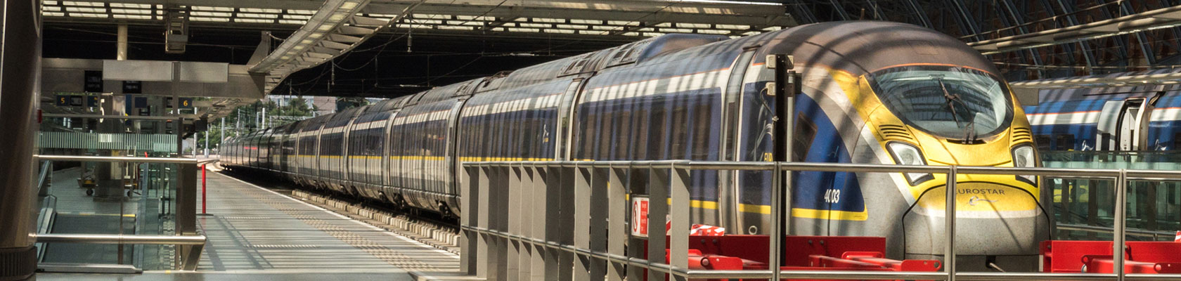 Eurostar services between London and Amsterdam
