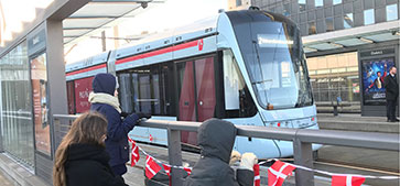 Aarhus light rail system enters into service