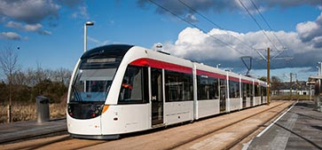 DriveSmart marks first year with Edinburgh Trams