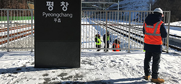 Safety assessment of Pyeongchang 'Olympic Line'