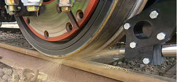 Wheel/rail adhesion technology trials