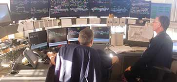 Irish Rail National Control Centre