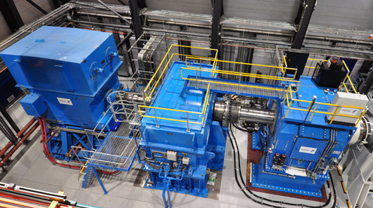 3MW drive train at ORE Catapult testing facility