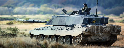 Army Reservists of the The Royal Wessex Yeomanry (RWxY), the South West's Army Reserve Cavalry Regiment taking part in a Challenger 2 main battle tank training exercise.