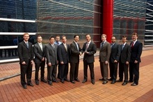 Andy Chien, Kevin Hauser and the RSC Ford account team