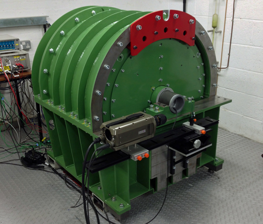 The Ricardo-led 'FlySafe' research collaboration – involving a range of leading industrial and academic partners including the University of Brighton's Centre for Automotive Engineering – has delivered a highly innovative flywheel safety test environment to enable the development of next-generation flywheel energy storage systems