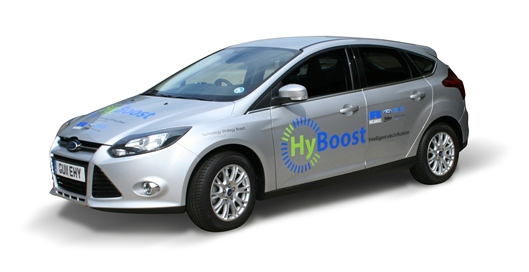 The HyBoost demonstrator vehicle