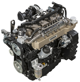 The KOHLER KDI 3404 TCR SCR engine – developed in partnership with Ricardo and featuring the revolutionary Ricardo Twin Vortex Combustion System