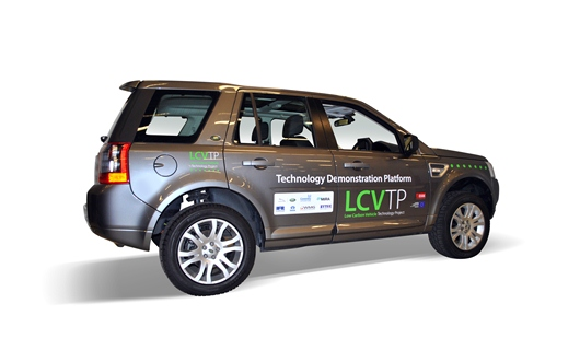 LCVTP - Ricardo-built electric vehicle technology demonstrator platform