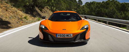 McLaren 650S - powered by the double Engine of the Year Award winning engine designed in collaboration with and manufactured by Ricardo