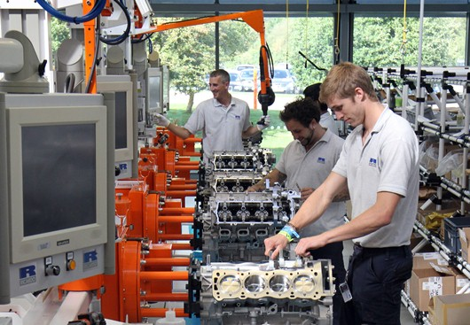 The Ricardo High Performance Assembly Facility has produced 1500 M838T engines for McLaren in its first year
