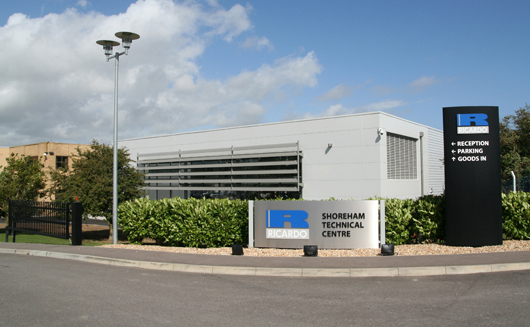 Ricardo engine assembly plant - now expanded to triple its previous size